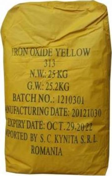 Oxid galben de fier G313 25 kg de la Kynita Srl