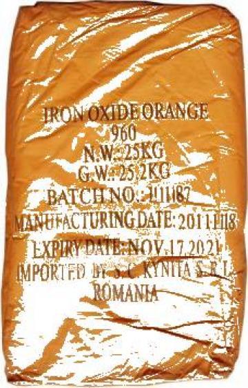Oxid orange de fier 960 25 kg de la Kynita Srl