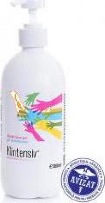 Gel dezinfectant pentru maini Klintensiv 500ml de la E.m.i. Online Data Srl