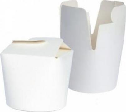 Cutie carton alb noodles 500cc de la Cristian Food Industry Srl.
