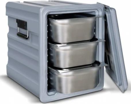 Termoboxuri, carucioare, paleti plastic/policarbonat de la Horeca Concept