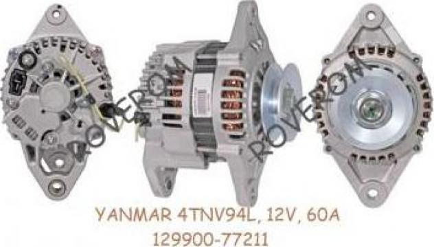 Alternator Yanmar 4TNV94L, 4TNE98, Komatsu 4D94E, 12V, 60A de la Roverom Srl