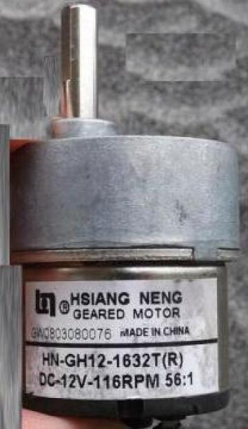 Motor angrenat cu curent continuu Metal Gear HN-GH-1632T 12v