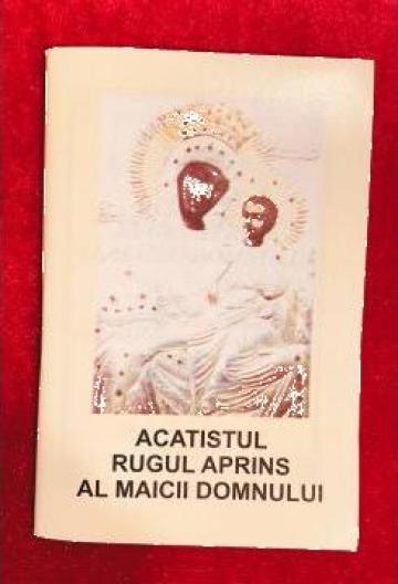 Carte, Acatistul Rugului Aprins al Maicii Domnului de la Candela Criscom Srl.