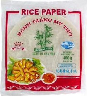 Hartie din orez rotunda Bamboo Tree de la Expert Factor Foods Srl