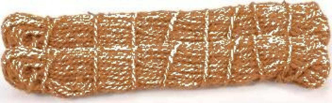 Franghie din fibra de nuca de cocos 10mm 200m de la Vidaxl