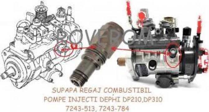 Supapa regaj combustibil pompe injectie Delphi DP210, DP310