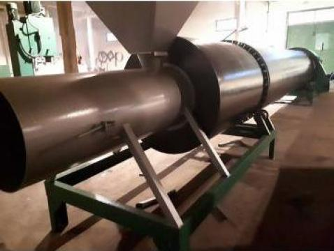Uscatoare rumegus rotative cu tambur de la Dupet Concept SRL