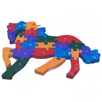 Puzzle lemn cal de la Ady Comprod Srl