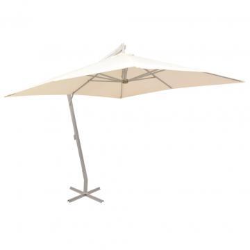 Umbrela suspendata, stalp de aluminiu de la Comfy Store