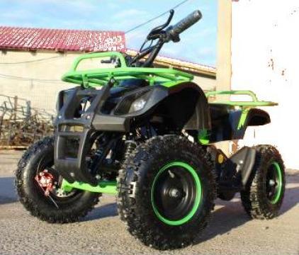 ATV electric pentru copii Eco Torino 800W  36V Deluxe, green