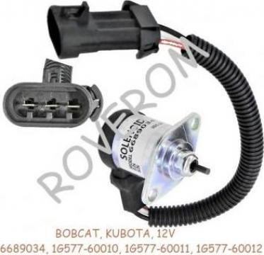 Solenoid 12V, Kubota V3300, V3800, Bobcat S220, S330, S750
