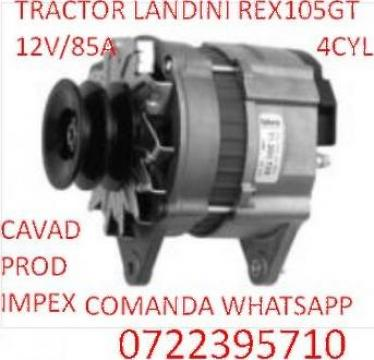 Alternatortractor Landini REX 105GT de la Cavad Prod Impex Srl