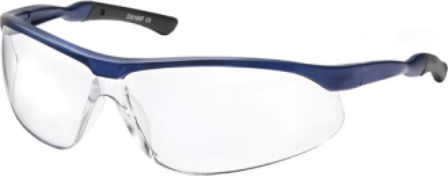Ochelari protectie sport policarbonat/nylon albastru Parweld de la Sudometal Srl