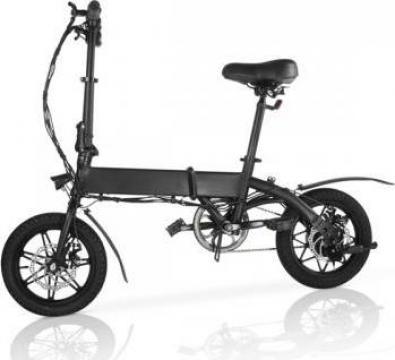 Bicicleta electrica pliabila, roti 14, 3 viteze de la Mobilab Creations Srl
