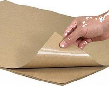 Hartie natur cu polietilena 38/10 25x35cm, 10 kg/pachet de la Cristian Food Industry Srl.