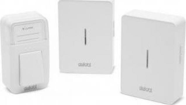 Sonerie wireless  2 receptoare fara baterie Delight Kinetic