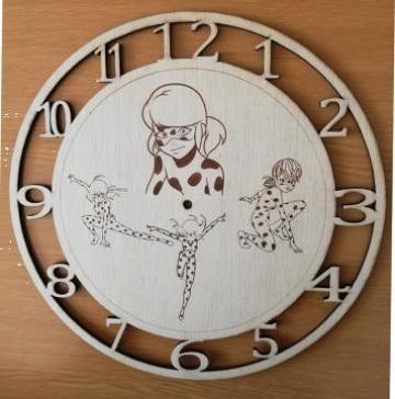Jucarie ceas educativ cifre arabe Buburuza Miraculoasa de la Artemis Srl