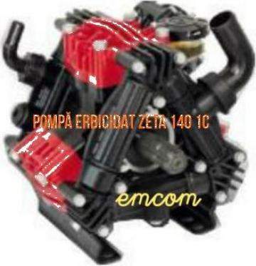 Pompa masina erbicidat Zeta 140 1C de la Emcom Invest Serv Srl