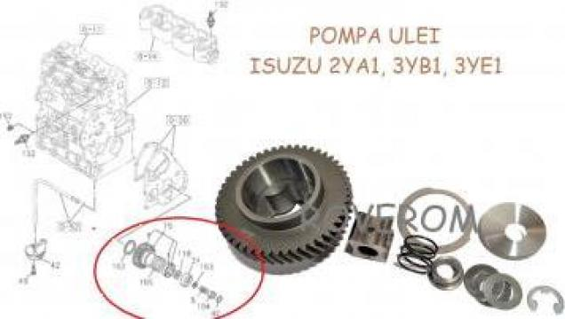 Pompa ulei Isuzu 2YA1, 3YB1, 3YE1 de la Roverom Srl