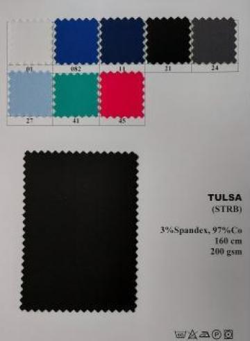 Tesatura cu elastan pentru uniforme, costume, halate de la Textura Ro Srl