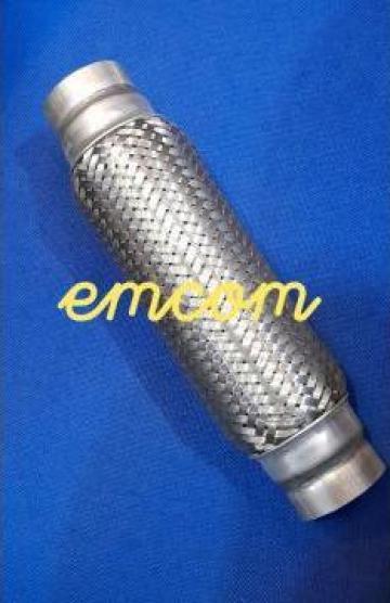 Racord esapament flexibil 60x250 mm de la Emcom Invest Serv Srl