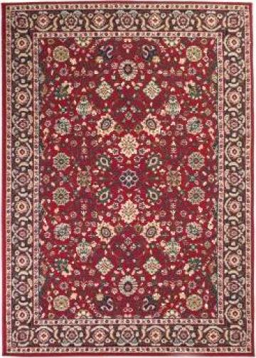 Covor oriental, rosu/bej, 80 x 150 cm de la Vidaxl