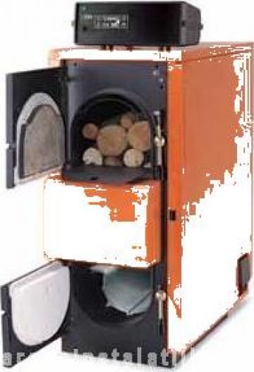 Cazan lemne gazeificare Fuego Step FU56 R R de la PFA Chivaru Corneliu