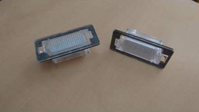 Lampi numar inmatriculare cu led gama BMW E39 M5 E70 E71 X5 de la Caraudiomarket.ro - Accesorii Auto Dedicate