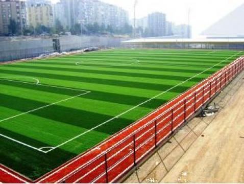 Amenajare teren fotbal de la Sintetik Srl