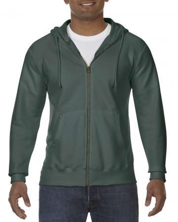 Bluza barbati Adult Full Zip Hooded Sweatshirt