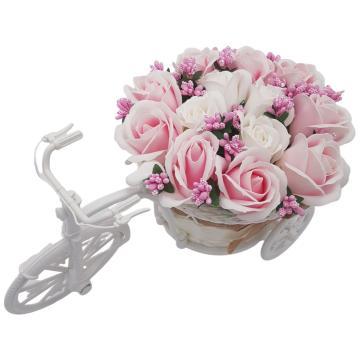 Aranjament floral trandafiri Bicicleta cu flori de la Dali Mag Online Srl