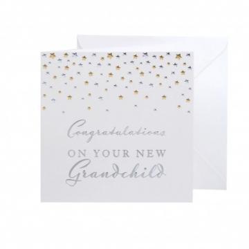 Felicitare pentru bunici New Grandchild Bambino by Juliana de la Krbaby.ro - Cadouri Bebelusi