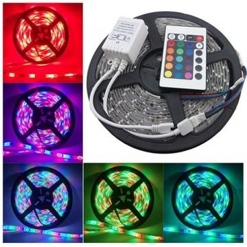 Banda cu LED-uri RGB multicolore joc de lumini de la Startreduceri Exclusive Online Srl - Magazin Online - Cadour