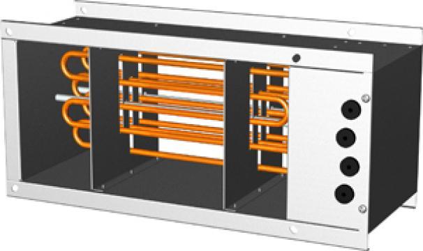 Baterie electrica de incalzire RVE 500-250 (bxh) - 22kw