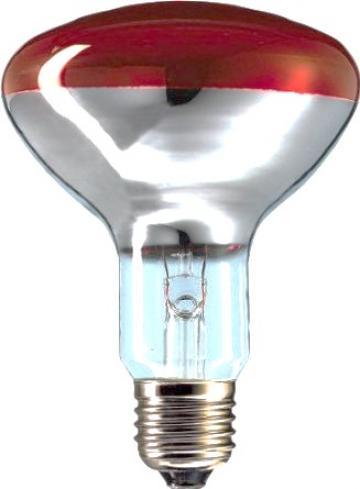 Bec infrarosu E27 250W B de la Kalva Solutions Srl