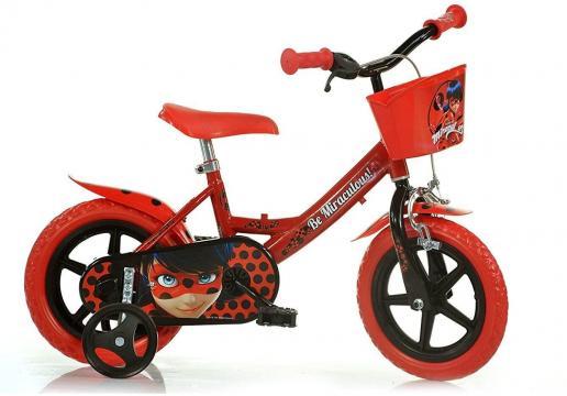 Bicicleta copii 12'' Miraculos-Buburuza de la A&P Collections Online Srl-d