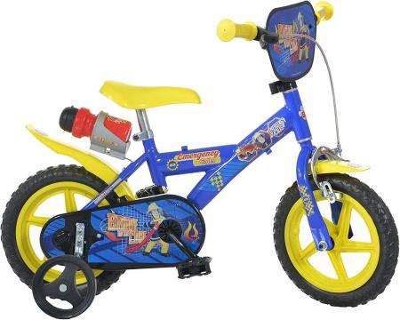 Bicicleta copii 12'' Pompierul Sam de la A&P Collections Online Srl-d