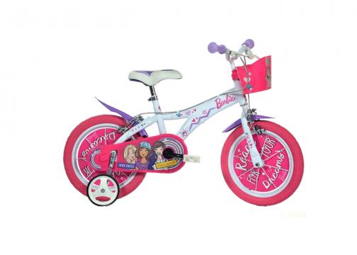 Bicicleta copii 16 - Barbie
