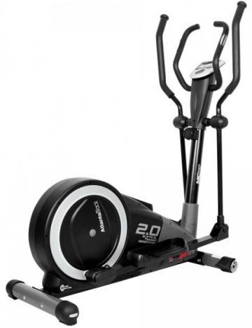 Bicicleta eliptica magnetica inSPORTline Atlanta Black