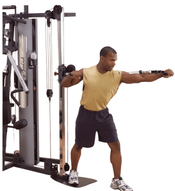 Aparat exercitii Body-Solid GCCA Cable Column de la Sportist.ro - Magazin Articole Sportive