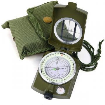 Busola militara profesionala cu compas