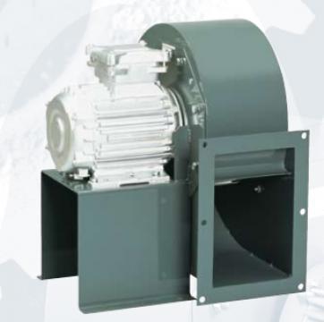 Ventilator centrifugal 400 grd CHMT/6- 355/145-1.1 de la Ventdepot Srl