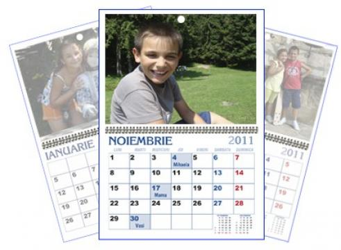 Calendar personalizat de perete CALP003 de la Apia Prest Srl