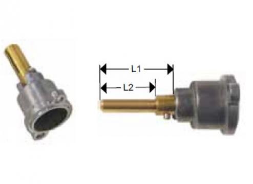 Cap robinet gaz PEL 21 lungime ax 37/15mm de la Kalva Solutions Srl