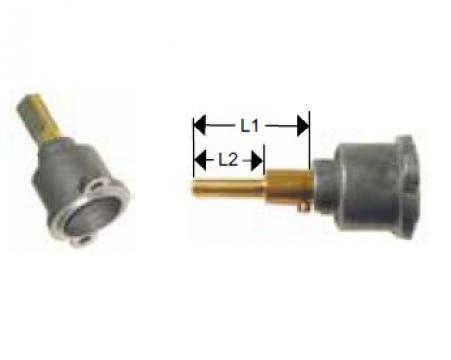 Cap robinet gaz PEL 22 lungime ax 35/21mm de la Kalva Solutions Srl