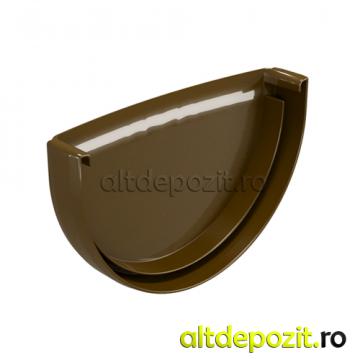 Capac jgheab PVC