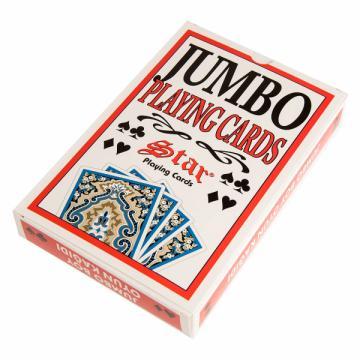 Carti de joc Jumbo Star mare de la Chess Events Srl