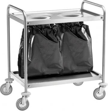 Carucior pentru reciclare din inox CA de la GM Proffequip Srl