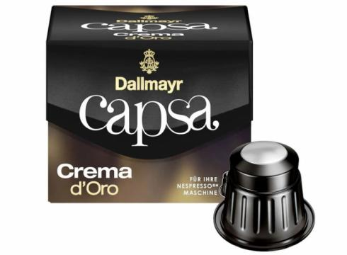 Capsule Dallmayr Capsa Crema D'Oro 10buc 56g